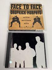 Face to Face / Dropkick Murphys - Split EP (CD, 2002) Vagrant Records VR365