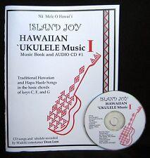 Island Joy Hawaiian `Ukulele Music Book #1 with CD