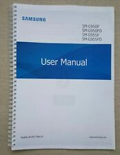 Printed Samsung Galaxy S8 S8+ Edge Instruction Manual SM-G950 237 pages