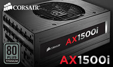 TITANIUM CORSAIR ax1500i Digital ATX Power Supply 1500 Watt fully-MODULAR PSU ✔