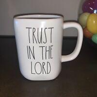 New Rae Dunn Trust In The Lord Mug HTF