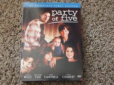 Party of Five - The Complete First Season (DVD, 2004, 5-Disc Set) FREE SHIPPING!
