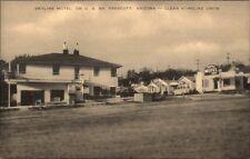 Prescott AZ Skyline Motel US 89 Postcard
