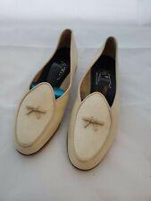 VINTAGE Women's Belgian Shoe Company Leather Loafer 5122 WW size 6.5