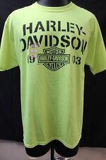 """Harley-Davidson """"Stencel Words"""" T-Shirt Men's Large R0004505"""