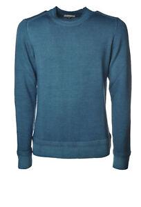 Paolo Pecora - Knitwear-Sweaters - Man - Blue - 6495419I190519