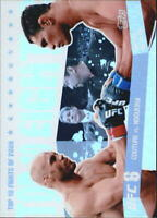 2010 Topps UFC Main Event Top 10 Fights of 2009 #16 Couture/Nogueira - NM-MT