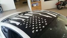 FORD 2015 2016 2017 MUSTANG DISTRESSED FLAG ROOF PANEL DECAL CHOOSE COLOR