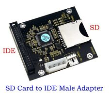 SD SDHC SDXC MMC Card to IDE 40Pin 3.5inch Male Adapter