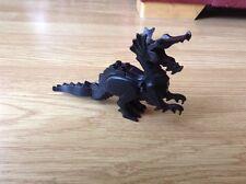 Negro Lego alas de dragón, no