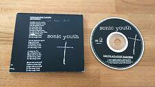 Sonic Youth Against Fascism UK CD Single Geffen GFSTD26 Grunge Alternative Rock