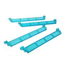 ☀️NEW! Lego Parts Garage Roller Door Section PACK of 4 - Transparent light blue