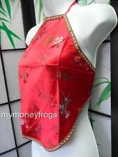 Backless Chinese Oriental Lady Girl Halter Sexy Tie Pool Top Blouse Shirt #H