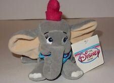 """Disney Store 8"""" Mini Bean Bag """"Dumbo"""" Plush **NEW**"""