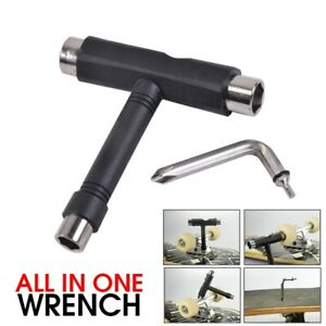 Professional All-in-one T-type Skate Tool Screwdriver Socket Multi-functional