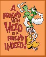 www Marijuana is my Friend dot Com URL Domain Website Name for Sale Funny Name!