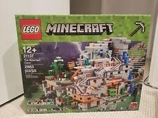 LEGO Minecraft The Mountain Cave 21137 Building Kit 2863 Piece Brand NEW