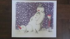 Banksy Rude snowman postcard  (walled off hotel, dismaland...)