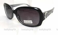 NWT Tommy Hilfiger QUINN Black Silver Sunglasses Women Authentic Gift /703/ NEW