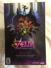 BRAND NEW Zelda Majora's Mask 3D Limited Edition Skull Kid Bundle (Nintendo 3DS)