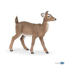 Whitetail deer doe 10 cm wild animals Papo 50218 Novelty 2017