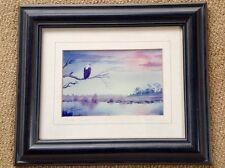 Framed Lionel Ashley limited addition print - African Fish Eagle