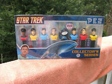 Star Trek PEZ Collectors Series 8 Pack Dispenser Set Limited Edition~New