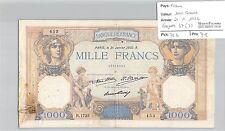 BILLET FRANCE - 1000 FRANCS - 21.1.1932