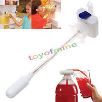 White Magic Tap Electric Automatic liquid & Drink Beverage Dispenser Spill Proof