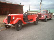 A 1936 Ford Firetruck 1,840 Miles 1935 1934 1933 1932 Model AA B BB Like NOS