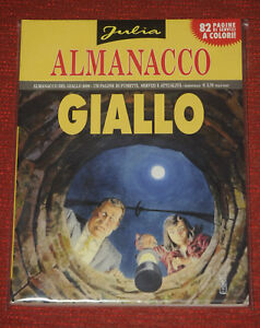 (PRL) JULIA KENDALL ALMANACCO DEL GIALLO 2005 SERGIO BONELLI NOIR FUMETTO COMIC