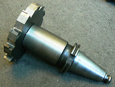 """CAT 50  8.75"""" Diameter Side Mill Slot Milling Cutter with Command Pull Stud"""