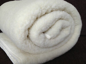 Merino Wool Mattress Topper Under blanket Single Double King Super King Size