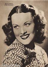 #CINEMA- ATTRICI: ELLY PARVO- foto Venturini-  ediz. Rizzoli 1941