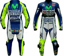 YAMAHA MOTORBIKE RACING LEATHER SUIT CE APPROVED