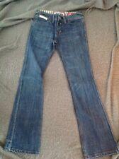 Superdry Ladies Stretch Denim Bootcut W26 L32 Blue Jeans. MR 7334