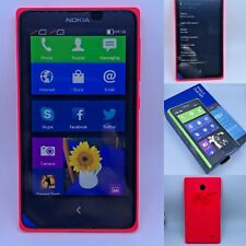 Android Dual Sim Nokia ANDROID Sim-Free RED Nokia X DS GSM WCDMA