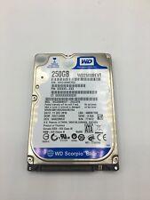 """Used 250GB SATA 5400RPM 2.5"""" Hard Drive Tested"""