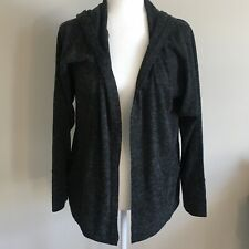 Soft Joie Open Front Hooded Cardigan Grey Marl Womens Size S