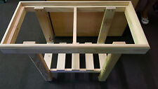 "Brand new 3ft aquarium/fish tank pine stand, measures 3ft x 14"" x 24"" high"