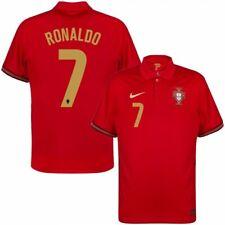 More details for 2020/21 portugal home euro football shirt ronaldo s-4xl
