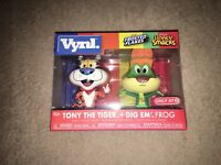 Funko! VYNL TARGET EXCLUSIVE Tony The Tiger + Dig Em' Frog Combo Pack IN HAND