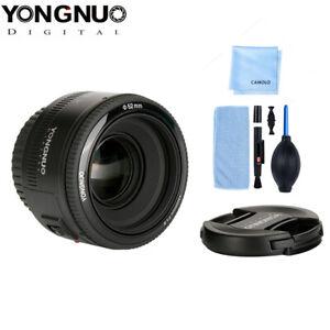 YONGNUO YN50mm F1.8 AF Large Aperture Camera Lens for Canon EOS EF DSLR Camera