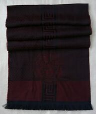Gianni Versace Medusa head unisex scarf - Made in Italy