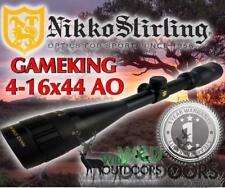 Nikko Stirling - Rifle Scope - Game King -4-16x44AO - Half Mil Dot Reticle