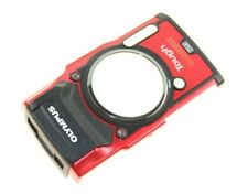 WU097800 FRONT COVER RED OLYMPUS TOUGH TG-5 GENUINE QUALITY SPARE PART NEW TG5