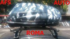BOX AUTO PORTAPACCHI MIMETICO HELIOS 400+BARRE ALFA ROMEO ANNO 2010 159 BERLINA