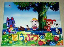 Animal Crossing Anime Movie Program Art Book Doubutsu no Mori