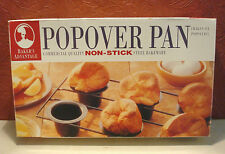 Baker's Advantage Non-Stick Steel Popover Pan Commercial Quality in Box Roshco