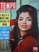 TEMPO n°51 1958 Chelo Alonso - Marilyn Monroe Arthur Miller Kim Novak [C86]